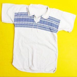 Vintage 60s Hemp Baja Tunic